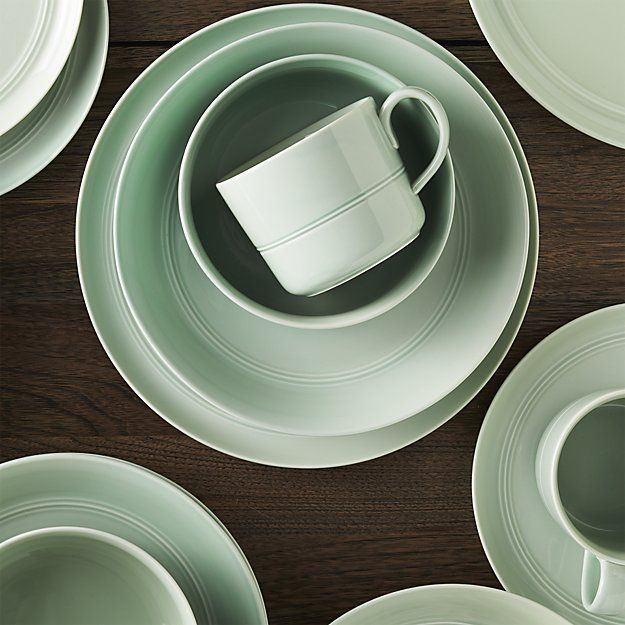 Hue Green Dinnerware | Crate and Barrel