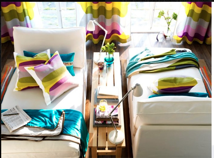Ikea kivik chaise lounge livvvvvingroom pinterest for Ikea living room ideas 2013