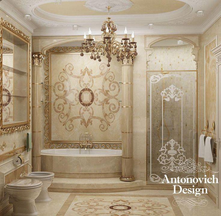 Luxury Bathroom Interior Design: 114 Best Bathrooms From Antonovich Design