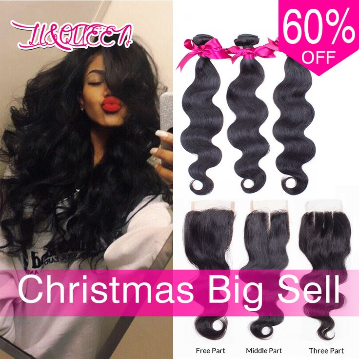 Brazilian Virgin Hair With Closure Body Wave With Closure Rosa Hair Products With Closure Brazilian hair bundles with closure *** Clicking on the VISIT button will lead you to find similar product