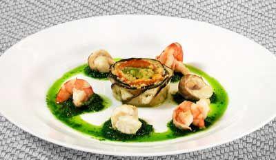 Рецепт - Холодные закуски с морепродуктами : Закуска Морская