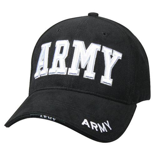 U.S. Military Online Store - US Army Cap - Black | US Army Hats & Caps | Black US Army Hat