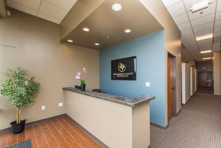 Williamson County Chiropractic Front Desk Inspiration