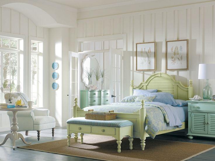 Coastal Living Bedroom Furniture #26: Coastal Bedroom Furniture | Coastal Living Bedroom Offers Light Colors And Minimalism.