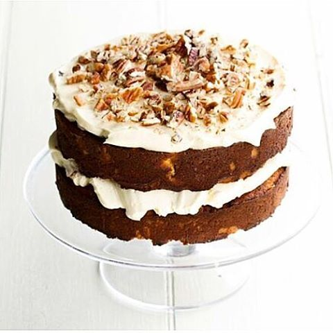 This gluten-free and grain-free double-decker hummingbird cake is just one of dozens of desserts you can learn to make with Rumbles' healthy cooking school!