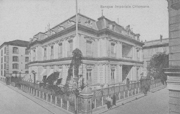 Salonica (Thessaloniki, Greece), Osmanli Bank, 1900s (Selanik'de Osmanlı Bankası)