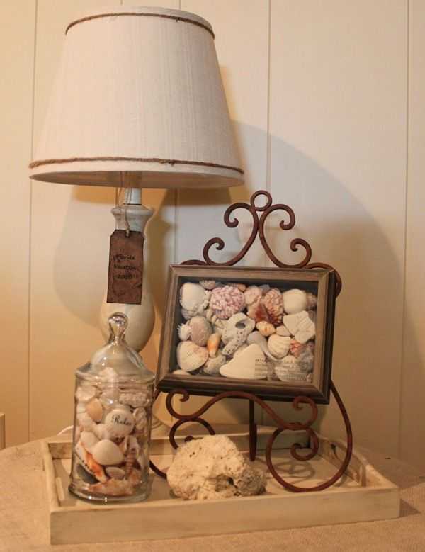 17 best ideas about seashell display on pinterest for Ideas for displaying seashells