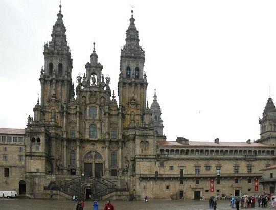 Spagna, la Cattedrale di Santiago de Compostela