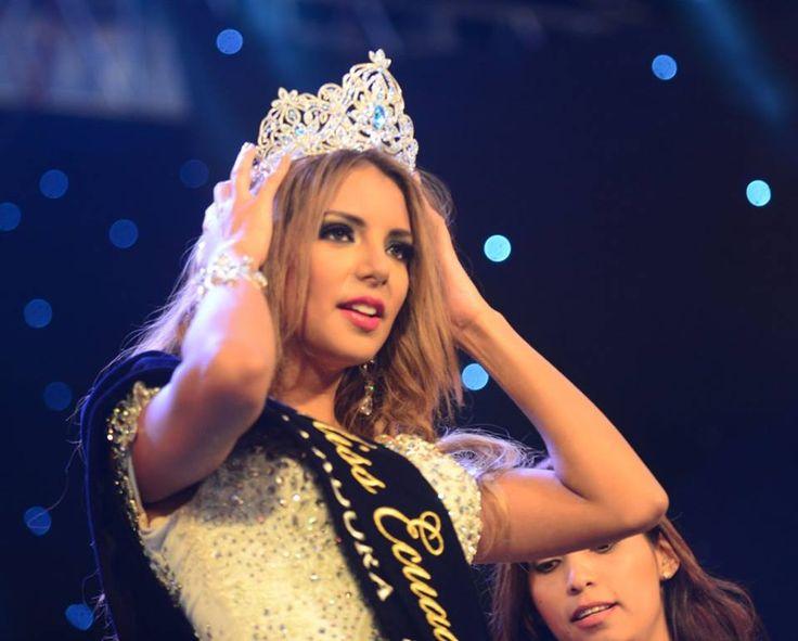 Connie Jiménez is Miss Ecuador Universe 2016 #missecuador #missuniverse #missuniverse2016