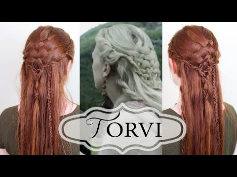 Silvousplaits Hairstyling | Vikings Hairstyling - Tutorial for Torvi's Basketweave Braid