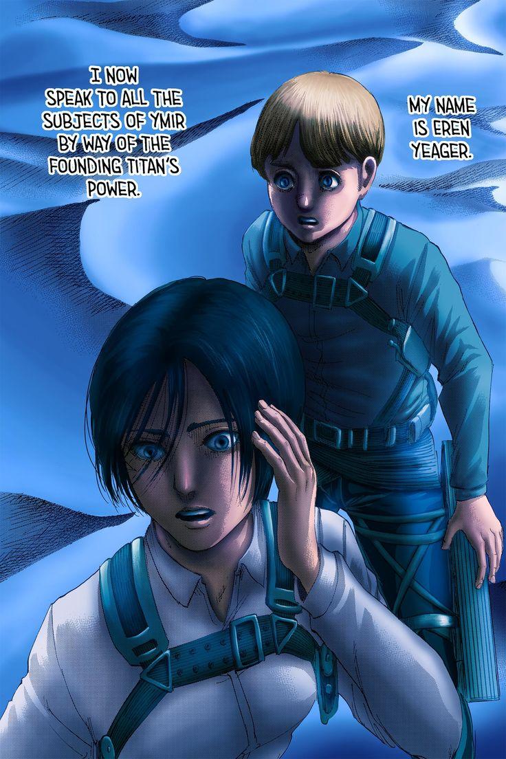 Shingeki No Kyojin Colored Chapter 123   Attack on titan ...