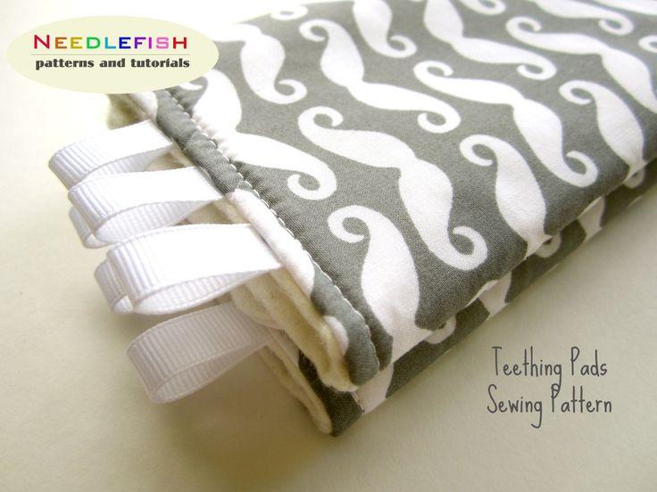 Teething Pads Pattern Drool Pads Pattern Easy Sewing