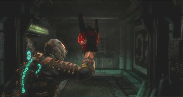 """Dead Space 3 arma oculta desbloqueable """"cuernos del diablo"""""""