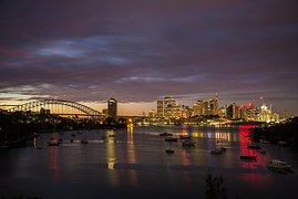 Sunrise, Sydney, Puerto, Australia