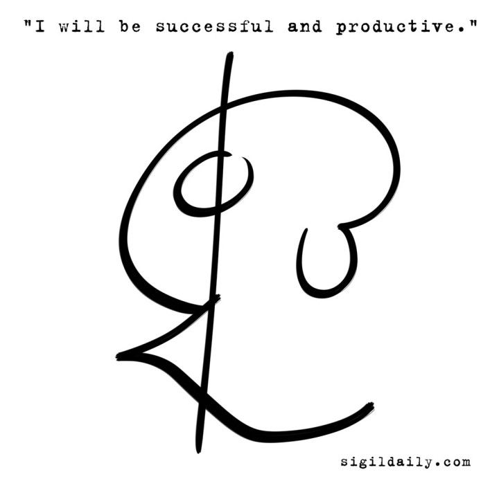 """""""I will be successful and productive."""""""