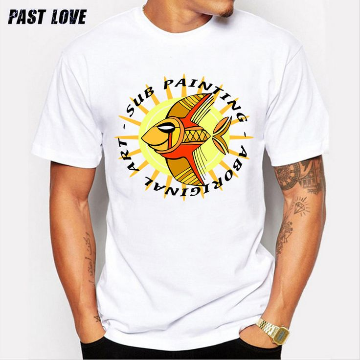 PAST LOVE Brand 2017 fashion men's T-shirt Characters and animal prints T-shirts with short sleeves Cotton men i feel like pablo