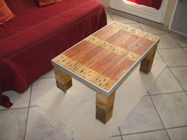 Table Basse Style Industriel / Industrial Style Coffee Table Part 41