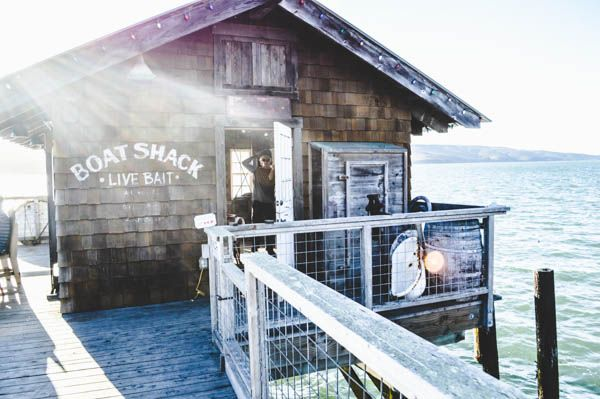 Boat Shack Nick's Cove | This small hovel belongs to Nick's Cove restaurant, but it's accessible to the public. You can sit outside if the weather is nice or you can cozy up inside with fireplace and piano. | 23240 Hwy 1, Marshall