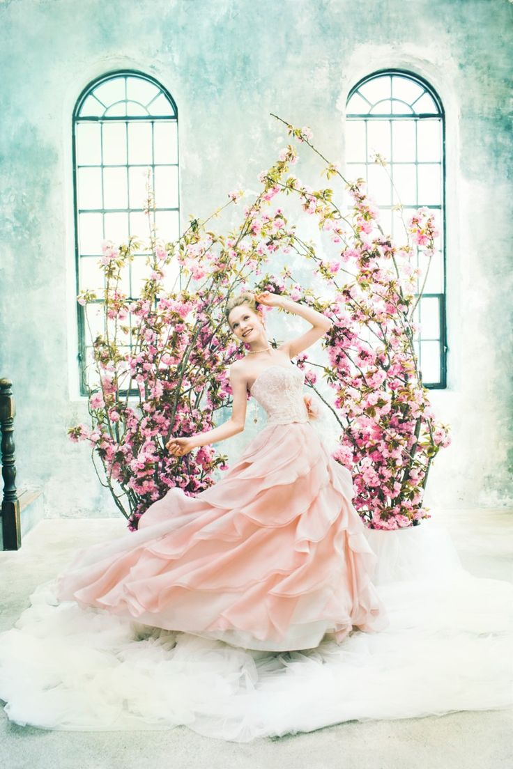 BTNV143(Charm)  #NOVARESE #ノバレーゼ #colordress #pink
