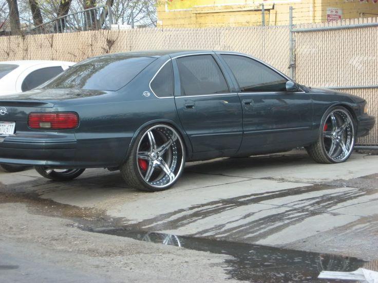 96 impala ss asanti af144 5 star wheels 24 inch