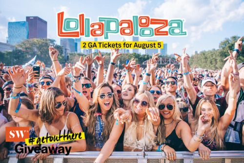 Win 2 Lollapalooza GA Tickets for August 5 & 2 Pairs of... sweepstakes IFTTT reddit giveaways freebies contests