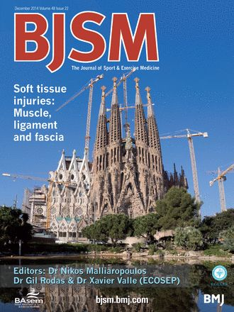 BJSM Volume 48 Issue 22 | December 2014 - Soft tissue injuries: Muscle, ligament and fascia