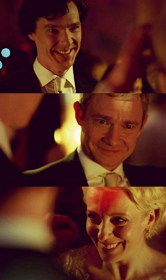 Sherlock, John, and Mary -- The sign of three