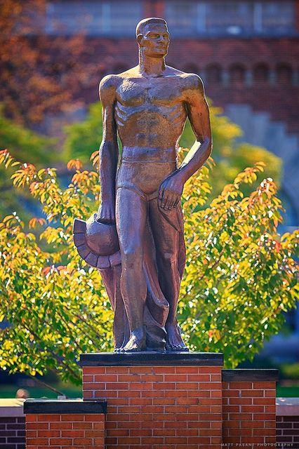 Michigan State University - Sparty by Matt Pasant, via Flickr