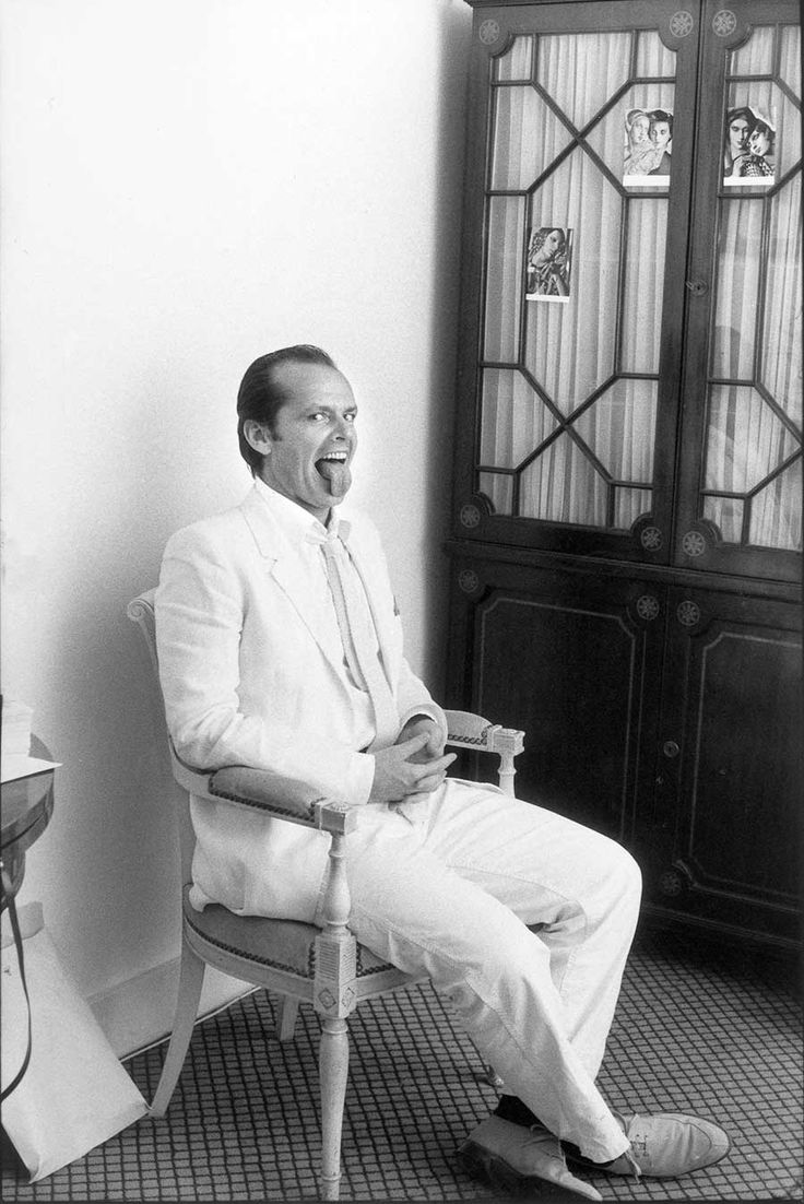 Jack Nicholson, 1981. (Photo by Michou Simon)                                                                                                                                                                                 More
