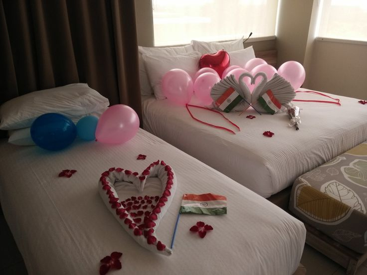 Honeymoon special set up from Us