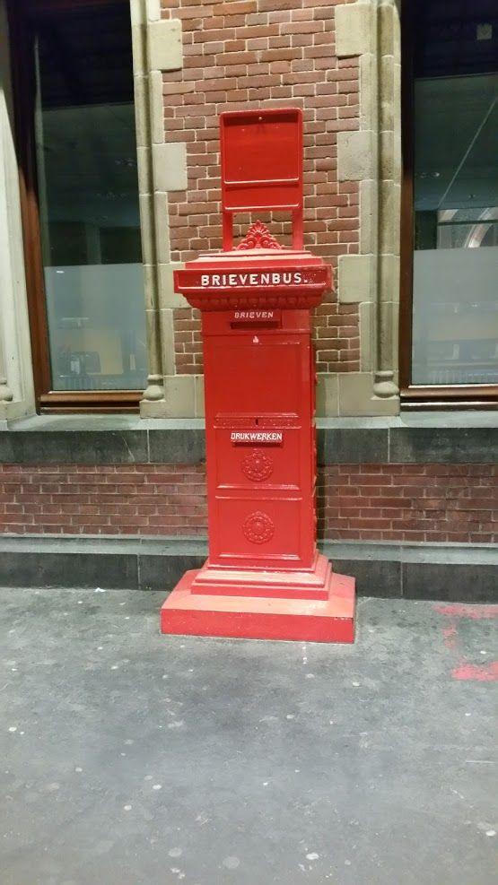 Oude Brievenbus van Post NL*