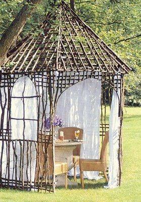 The twig room - oh, I love sticks