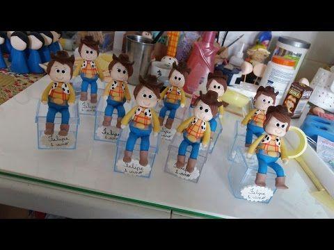 DIY- Fran aulas - lembrança wood - toy story - biscuit
