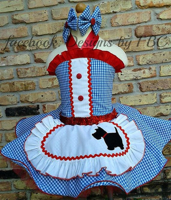Dorothy Inspired Wizard of Oz Costume Pageant Wear by OriginalFBC, $125.00