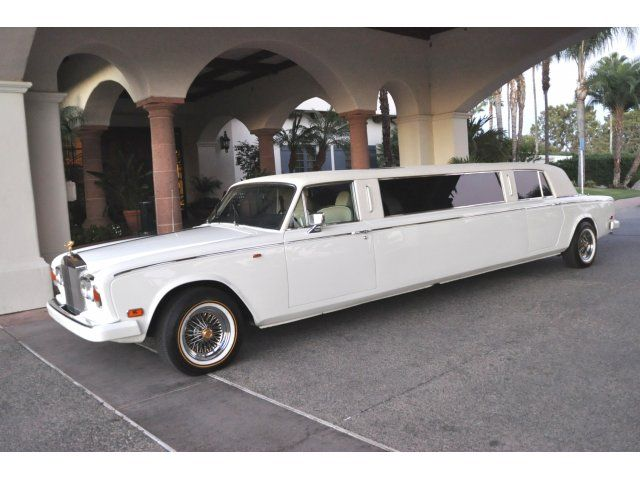Used 1977 Rolls-Royce Silver Cloud Stretch Limo  - $59,000