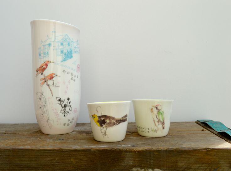 Lowri Davis Ceramics - &Collective Art Gallery, Bridge of Allan