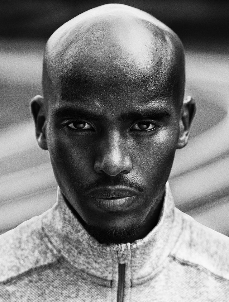 "Mohamed ""Mo"" Farah is a Somali-born British international track and field athlete in the long distance and middle-distance. He is the current 10,000 metres Olympic and World champion and 5000 metres Olympic, World and European champion. Photo by Carlos Serrao"
