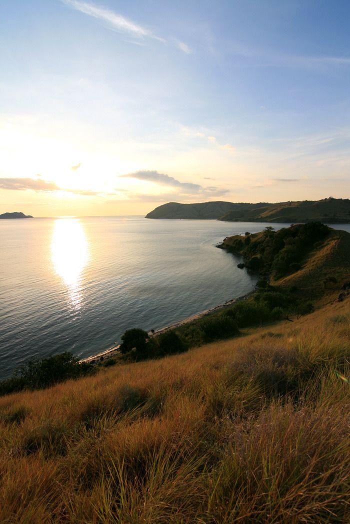 Sunset at Seraya Kecil Island. Photo by Indra Febriansyah