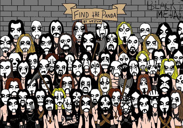 Encontre o panda – Level Heavy Metal