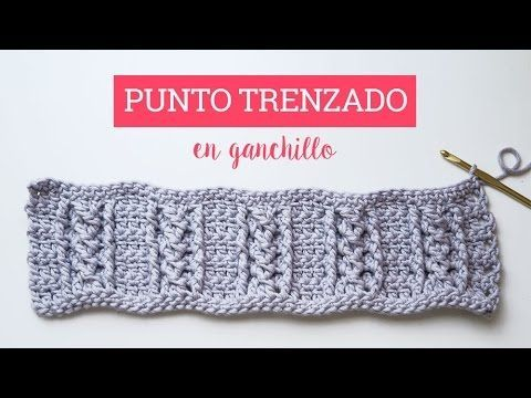 Tutorial punto trenzado en ganchillo, Crochet cable stitch, My Crafts and DIY Projects
