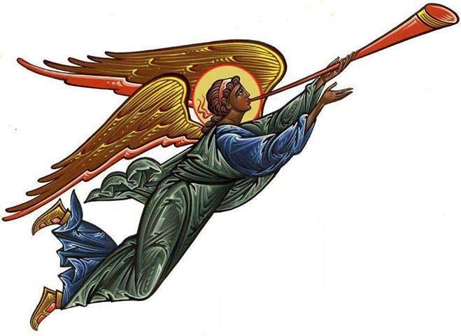 Engel met bazuin