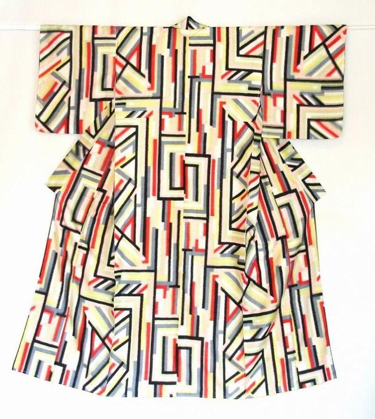 meisenkimono. designs from 1930s- 1950s. Haruko Watanabe.