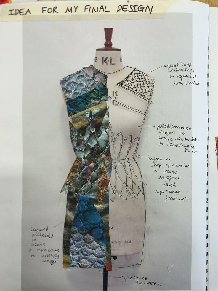 Fashion Sketchbook - fashion design development; fashion sketching; creative process; fashion portfolio // SJD, Emma