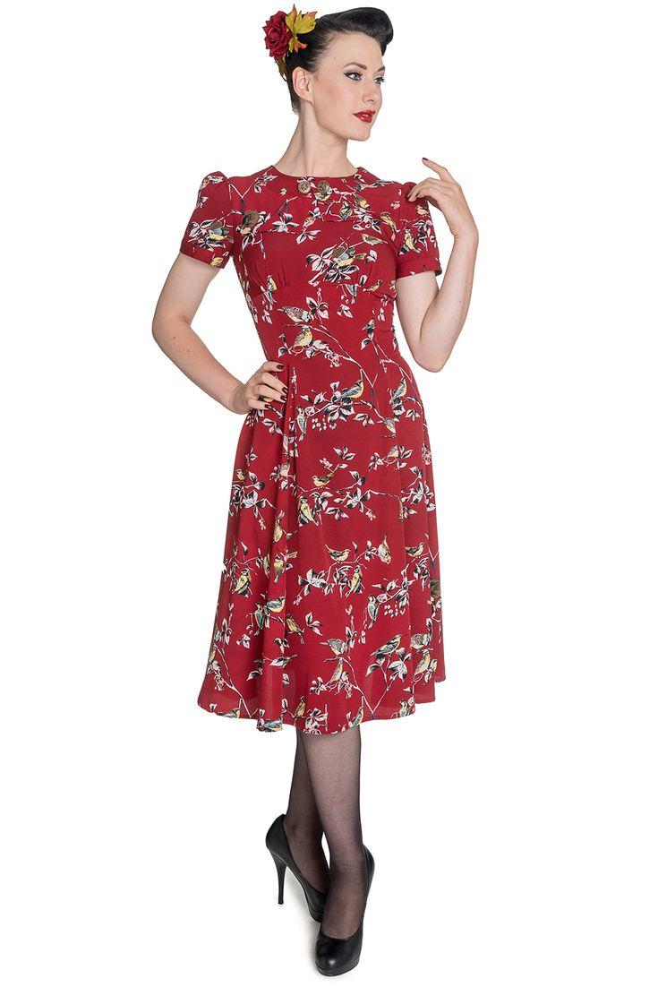 Birdy Wartime Landgirl dress