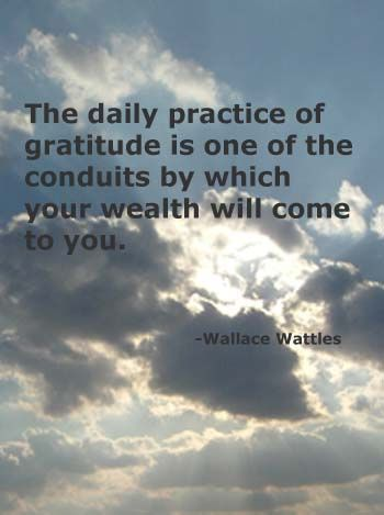 Wallace Wattles Gratitude by ourPotential, via Flickr