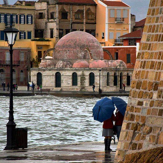 Chania, Crete island, Greece .... by @vasilis_manou #Crete # Greece