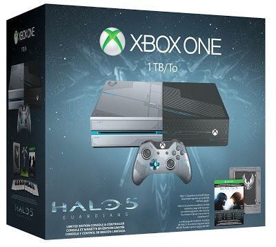 Electronics LCD Phone PlayStatyon: Xbox One 1TB Console - Limited Edition Halo 5: Gua...
