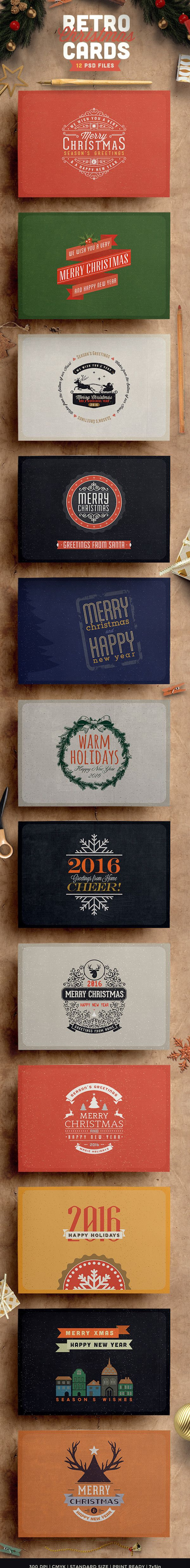 20+ Creative Christmas Card Designs for Inspiration