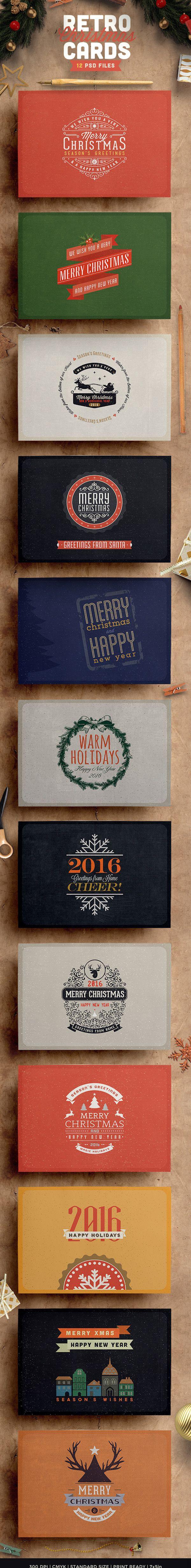 20+ Creative Christmas Card Designs for Inspiration