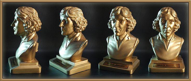 Nikolaus Kopernikus Version color gold #astronomy #scientist #figure #art #sculpture #bust #kopernikus #copernicus #kopernik